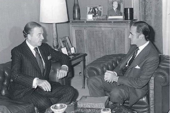 Y López de Letona convenció a Ford
